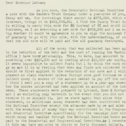 Letter : 1930 December 3