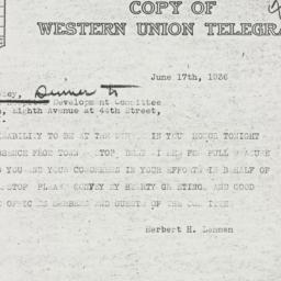 Letter : 1936 June 17