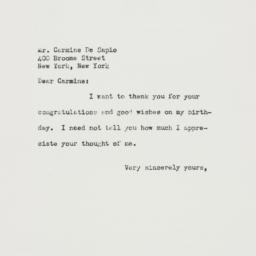 Letter : 1953 April 11