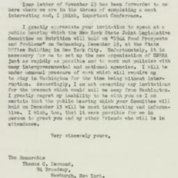 Letter: 1943 November 30