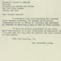 Letter: 1951 July 26