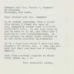 Letter : 1952 September 17