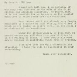 Letter : 1947 January 21