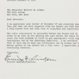 Letter : 1957 January 4