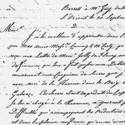 Document, 1782 September 30