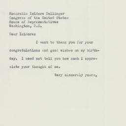Letter : 1953 April 10
