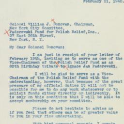Letter : 1940 February 21