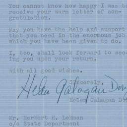Letter : 1944 November 20