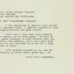 Letter: 1949 December 16