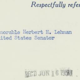 Administrative Record: 1954...