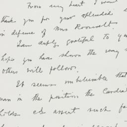 Letter : 1949 July 27