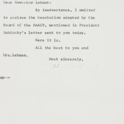 Letter : 1962 October 19