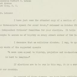 Letter : 1949 October 30