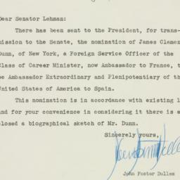 Letter : 1953 February 18
