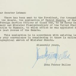Letter : 1953 May 8
