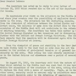 Letter : 1955 October 26