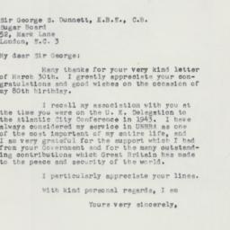 Letter : 1958 April 5
