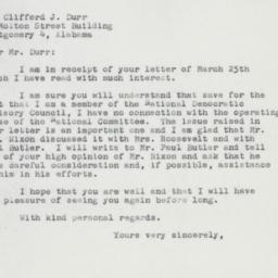 Letter : 1957 April 1