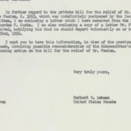 Letter : 1956 July 30