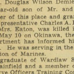 Clipping : 1945 June 13