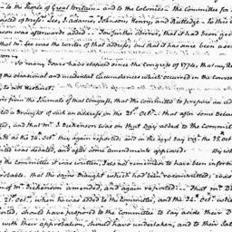 Document, 1823 February 12