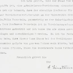 Letter : 1934 February 5