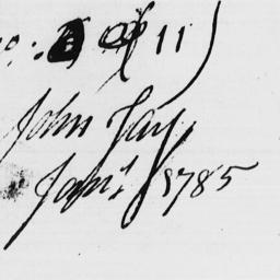 Document, 1785 January 29