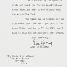 Letter: 1957 October 30