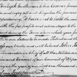 Document, 1796 March 23