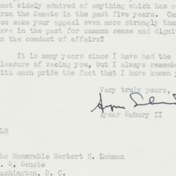 Letter : 1950 June 7