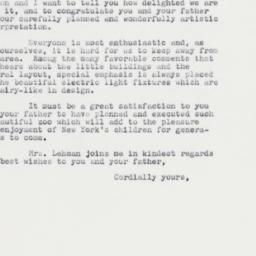 Letter: 1961 September 30