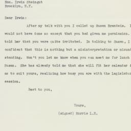 Letter : 1937 January 14