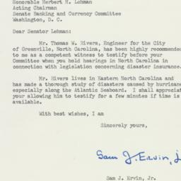 Letter : 1955 November 10