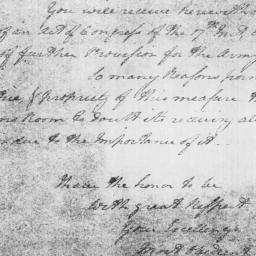 Document, 1779 August 24