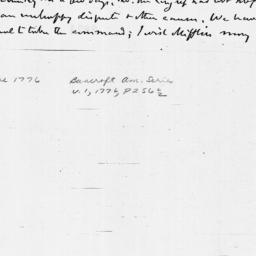 Document, 1776 June 03