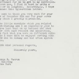 Letter : 1964 January 18