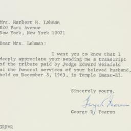 Letter : 1964 December 16