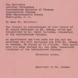 Letter : 1944 August 26