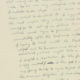 Letter : 1945 April 28