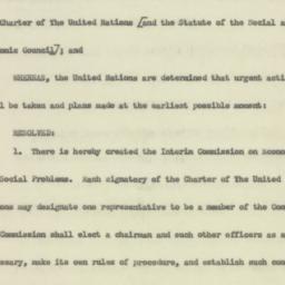 Administrative Record: 1945...