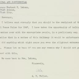 Letter : 1946 December 17