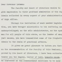 Letter : 1941 January 20