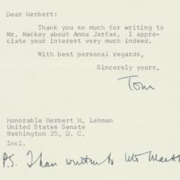 Letter : 1950 July 10