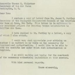 Letter : 1950 August 22