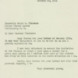 Letter : 1951 January 20