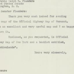 Letter : 1951 March 16