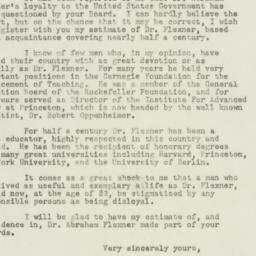Letter : 1948 October 27