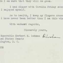 Letter : 1950 February 20