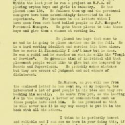 Letter : 1936 July 23