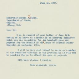 Letter : 1937 June 16